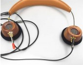 Portable Wooden On-Ear Headphone