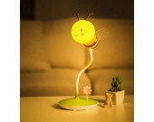 Portable Bee Rechargeable Led Night Light with Wireless Remote Control