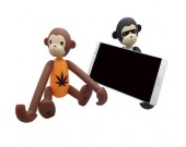Portable Long Arm Monkey Desk  Cell Phone Holder