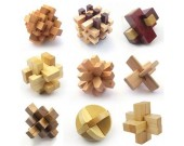 Chinese Wooden Puzzles ( KongMing Lock)