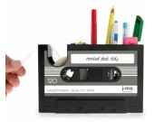 Retro  Cassette Pen Pencil Holder Desk Organizer