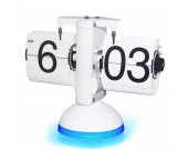 Retro Scale Auto Led Flip Clock With Voice Control LED Nightlight