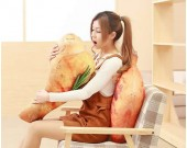 Roast Chicken Leg Duck Leg Chicken Wing  Plush Toys Funny Throw Pillow