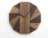Round  Wooden Wall Clock Decorative Clock