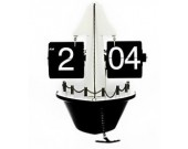 Sailboat Auto Flip Clock