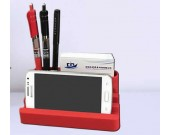 Silicone 4 Port USB Charging Station Desk Organizer For Multiple Devices
