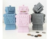 Silicone Robot Piggy Bank