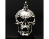 Skull Head Figurine Display Decoration
