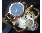 Steampunk Gear Wristwatch