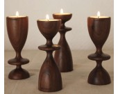 Tea Light Wooden Candle Holder(single)