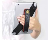 Universal Leather Tablet Hand Strap Holder