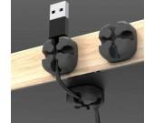USB Holder Multi Purpose Cable Clips