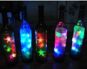 USB Powered Colorful Led String Lights in Glass Bottle