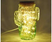USB Powered Led String Lights in Glass Bottle