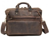 Vintage Handmade Leather Messenger Bag for Briefcase Satchel Bag &under to 14 inch Laptop