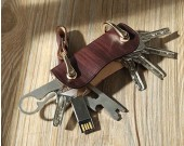 Vintage Hanmade Leather Key Organizer Key Holder  key case