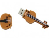 Violin Shaped  Usb Flash Drive