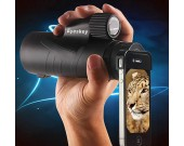 Waterproof Monocular With Hand Strap for Cell Phone