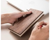 Wood Cover NoteBook