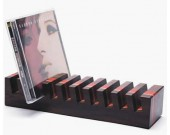 Wood  CD DVD Media Rack Holder Storage