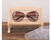 Wood Cute Chair Shaped Eyeglass Holder / Spectacle Display Stand