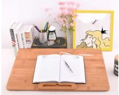 Wood Multifunctional Desk Drawing Board Art Supply for Students Kids