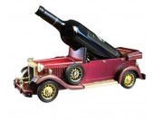 Wooden Classic Car Wine Bottle Holder