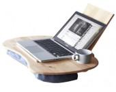 Portable Wooden& Cushioned Macbook Mobile Lap Desk