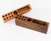 Wooden&Concrete  Pen Pencil Holder Office Supplies Desk Organizer