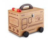 Wooden Household  Medicine Box Medical Emergency Medicine Family Storage Box