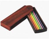 Wooden Pen Pencil Case Holder Box