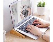 Wooden Portable Adjustable Laptop Desk Stand