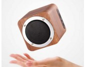 Wooden Portable Bluetooth Speaker