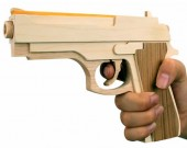 Wooden Rubber Band Gun