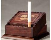 Wooden Semi-automatic Loading Cigarette Case Dispenser