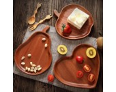 Wooden Tray & Food Fruit Plate