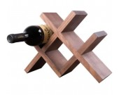 Wooden Wine Bottle Storage Rack