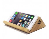 Wooden Wireless Sound Amplifier Magnetic Induction Portable Speaker