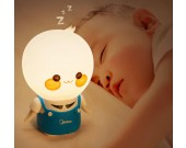 Cute Cartoon Little Boy Charging LED Night Light