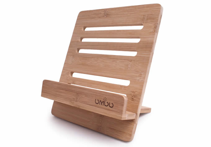 Bamboo Wooden Ipad Stand Holder Reading Stand Feelgift