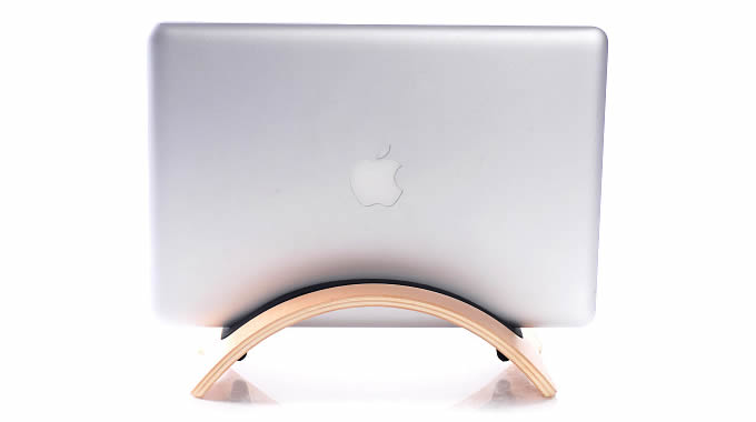 Apple  Laptop  Wood Stand Holder