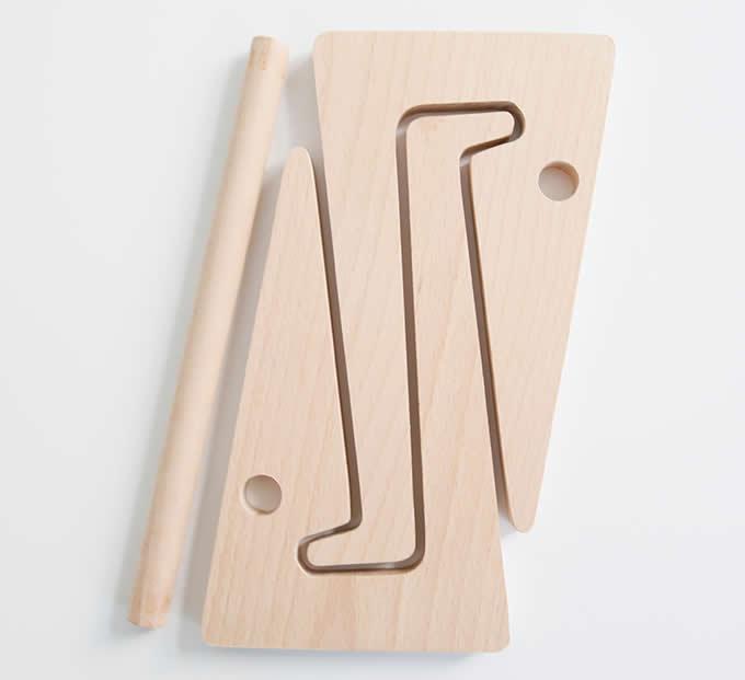Folding Wooden Desktop Stand For Tablet Laptop Macbook Air