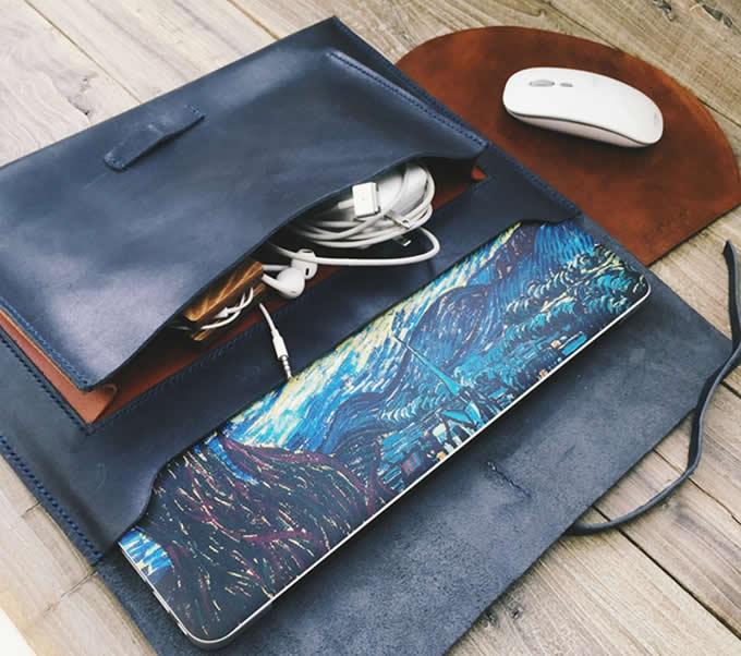 Handmade Genuine Leather Macbook Case Sleeve Portfolio