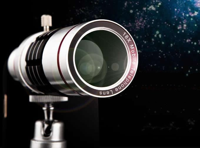 18x Optical Zoom Universal Smartphone Telephoto Telescope
