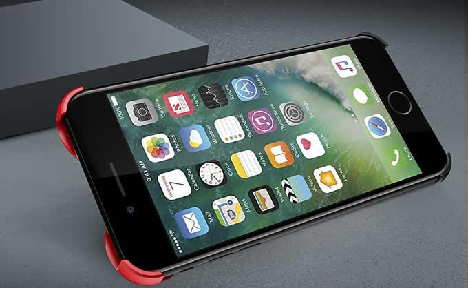 Aluminum Violin Bumper Frame Case With Ring Grip Stand for iPhone 8/8 Plus/7/7 Plus/6/6 Plus/6S/6S Plus/> </p> <p style=