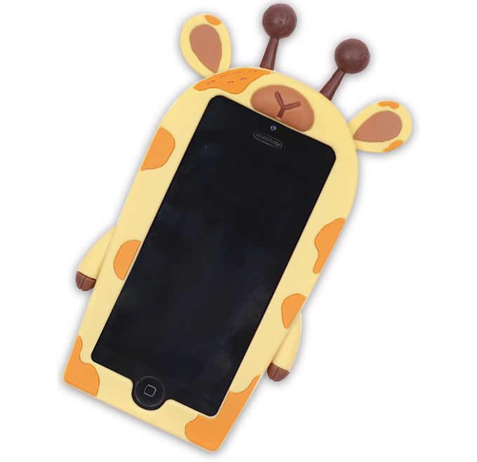 cover iphone 6 silicone giraffa
