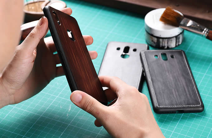 Handmade Leather  Phone Protective Skin Back Shell Case Cover Compatible For iPhone X