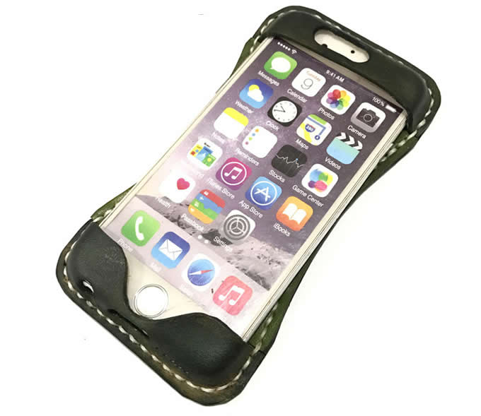 Handmade Genuine Leather Back Case Cover  For Iphone 6/6S/6Plus/6S Plus/7/7Plus