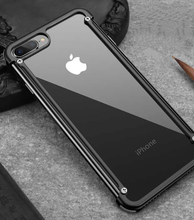 Metal  Slim Protective Cases Bumper Frame Cover  for Apple iPhone 8 / iPhone 7