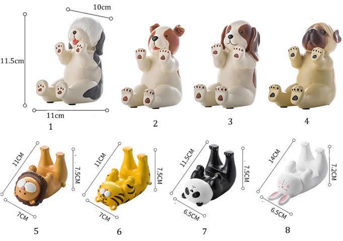 Miniature Animal  Smartphone Stand